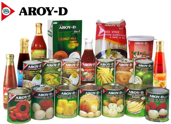 Продукты Aroy-D.