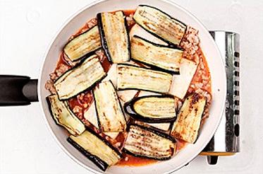 Пошаговый рецепт приготовления баклажанов с тофу.
