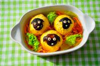 "Готовое блюдо ""Три овечки""."