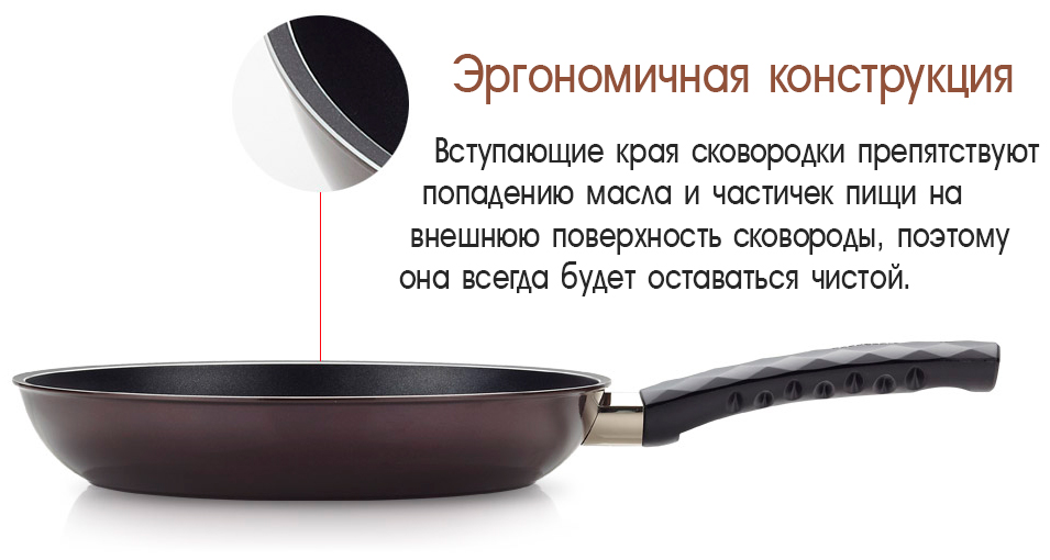 Дизайн сковородок Diamond от HappyCall.