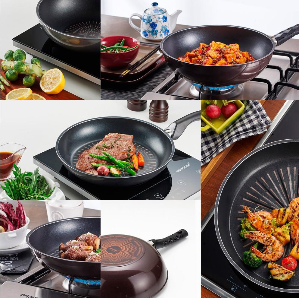 Качественные корейские сковородки HappyCall.