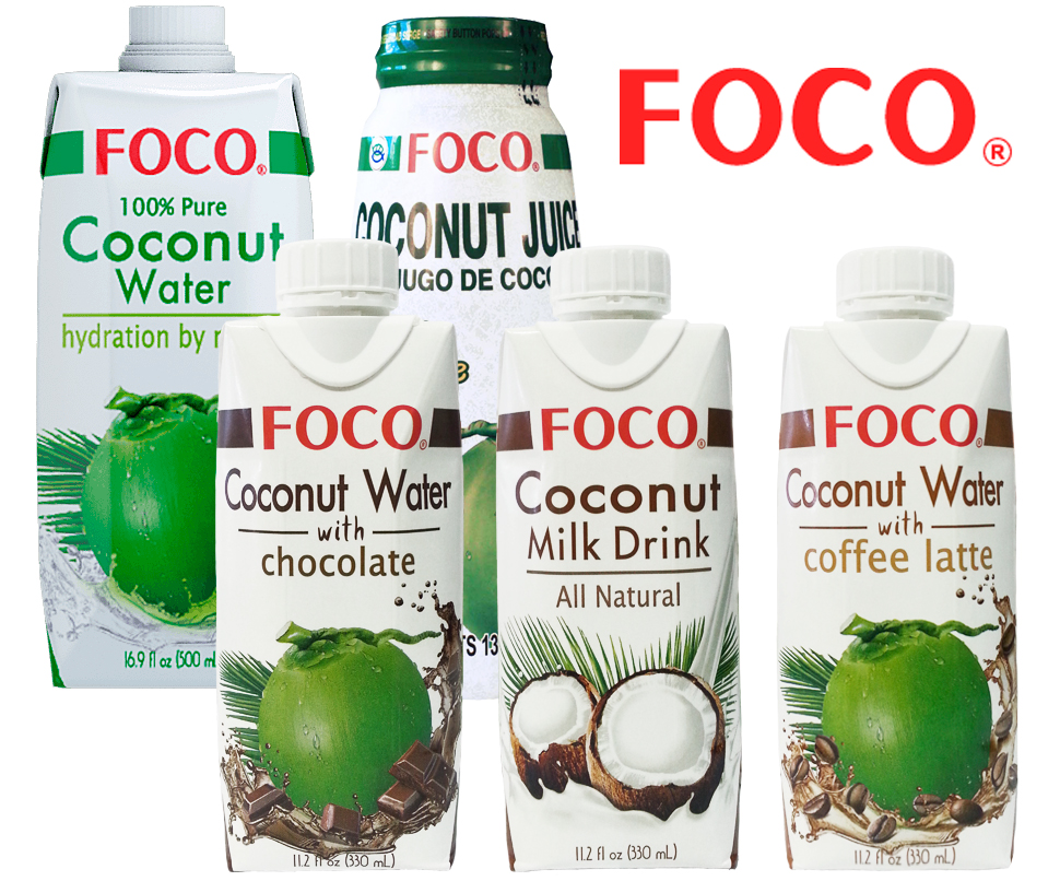 Кокосовая вода Foco