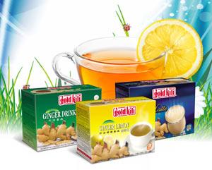 Имбирные напитки Gold kili