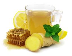 Напитки из имбиря, лимона и меда отлично тонизируют