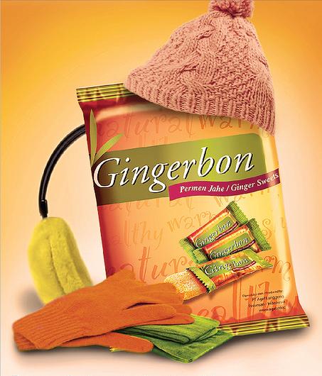 Вьетнамские имбирные конфеты gingerbon