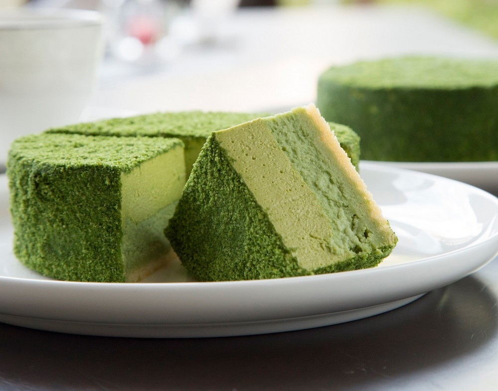 matcha cheesecake recept