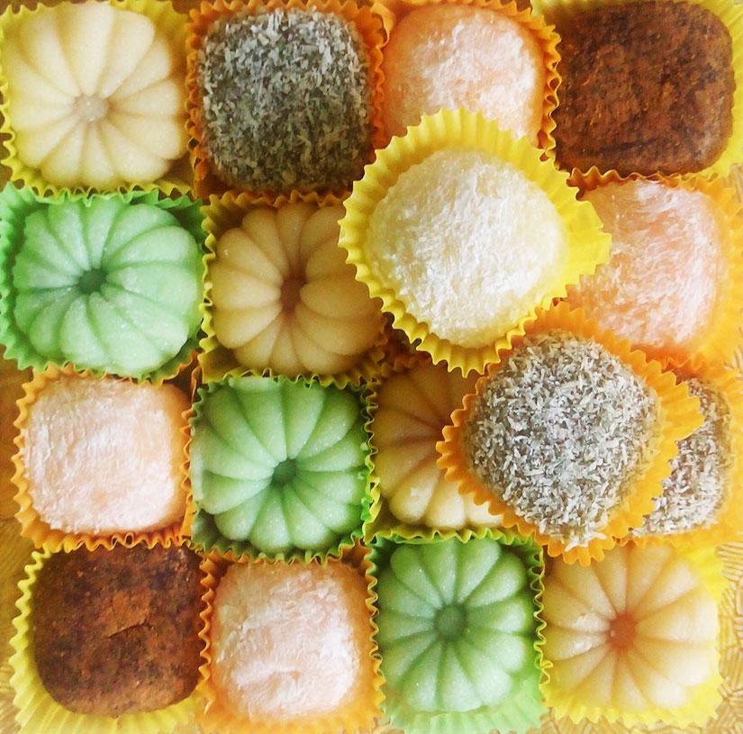 Нежные рисовые пирожные из Тайланда - моти по специальной цене!