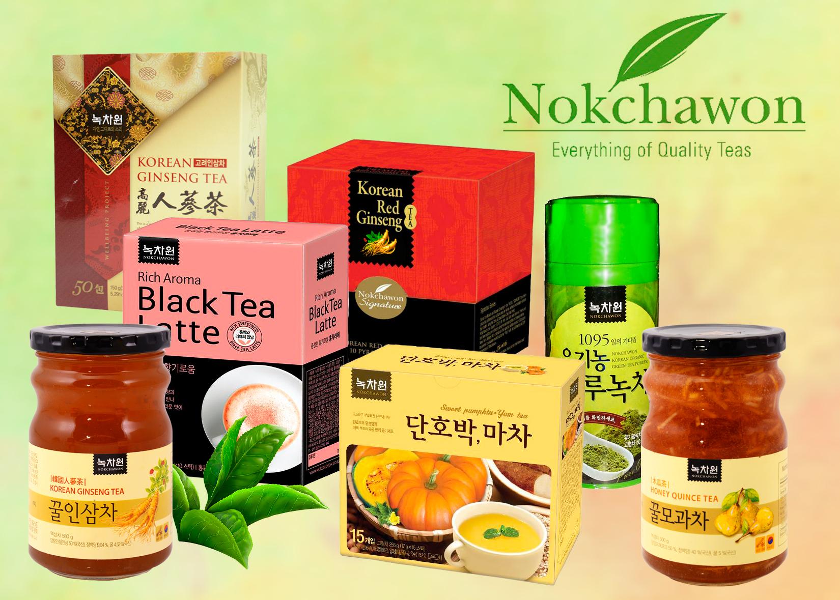 Корейский чай Nokchawon: распродажа.