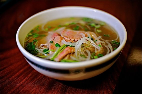 Традиционный вьетнамский суп Фо