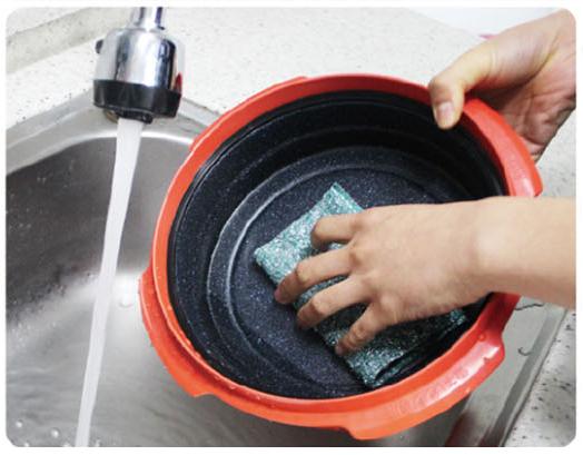 Лёгкое мытьё посуды Range Mate.