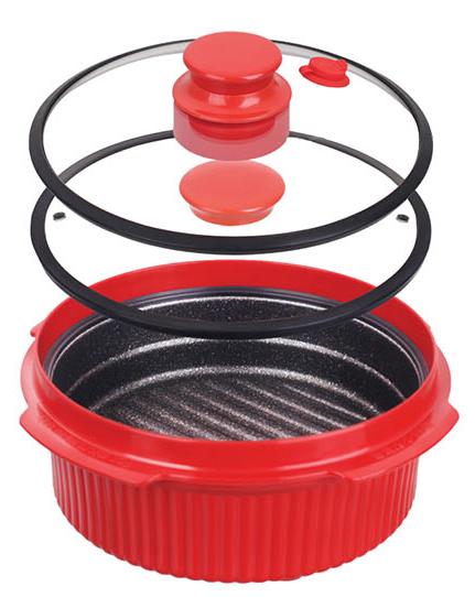 Кастрюля для микроволновой печи Rapid Cooker от Range Mate.