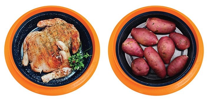 Здоровые и вкусные продукты, приготовленные в мультиварке Range Mate.