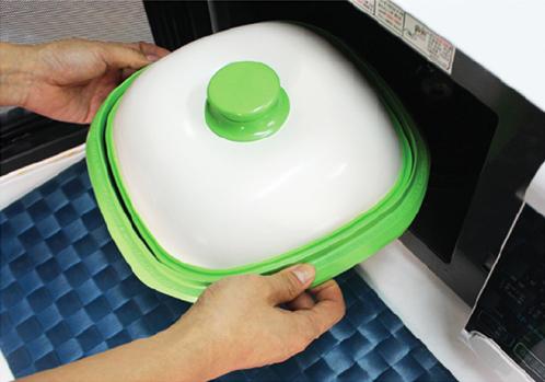 Квадратная сковородка-гиль для микроволновой печи Range Mate.