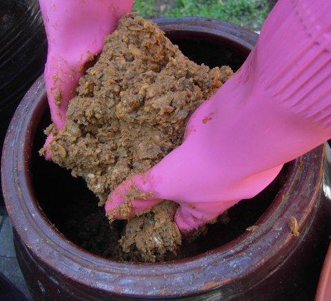 Корейская соевая паста, приготовление фото