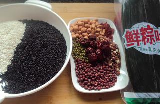 Ингредиенты для цзунцзы.