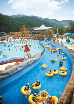 Аква парк в Корее