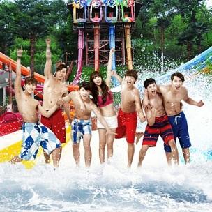Аква развлечения в Корее