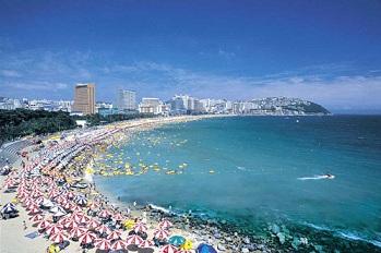 Пляжи в Корее