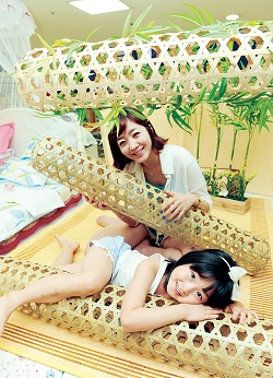 Бамбуковая жена для детей