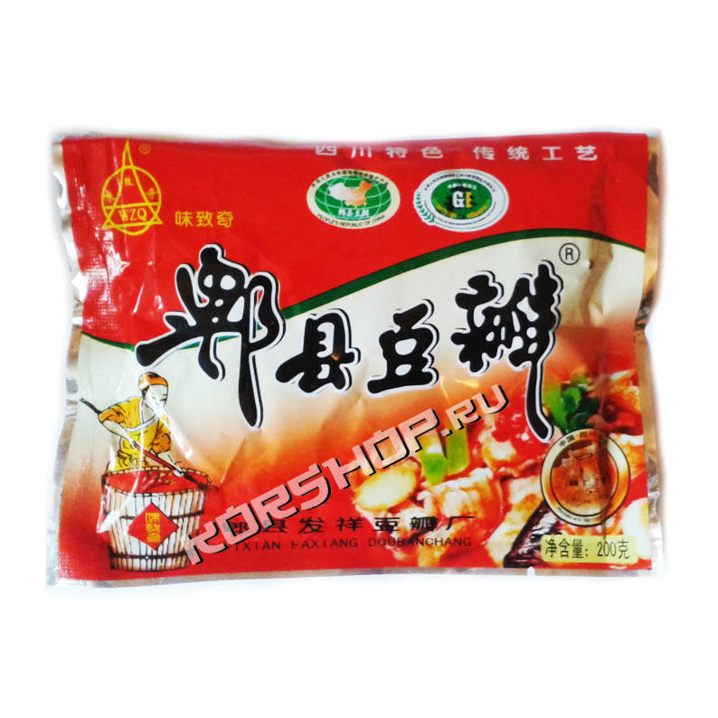 Соевая чили-паста Тобадзян (Chili Bean Paste) 400 г
