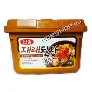 Корейская соевая паста Дендян 2 кг - в экономичной упаковке