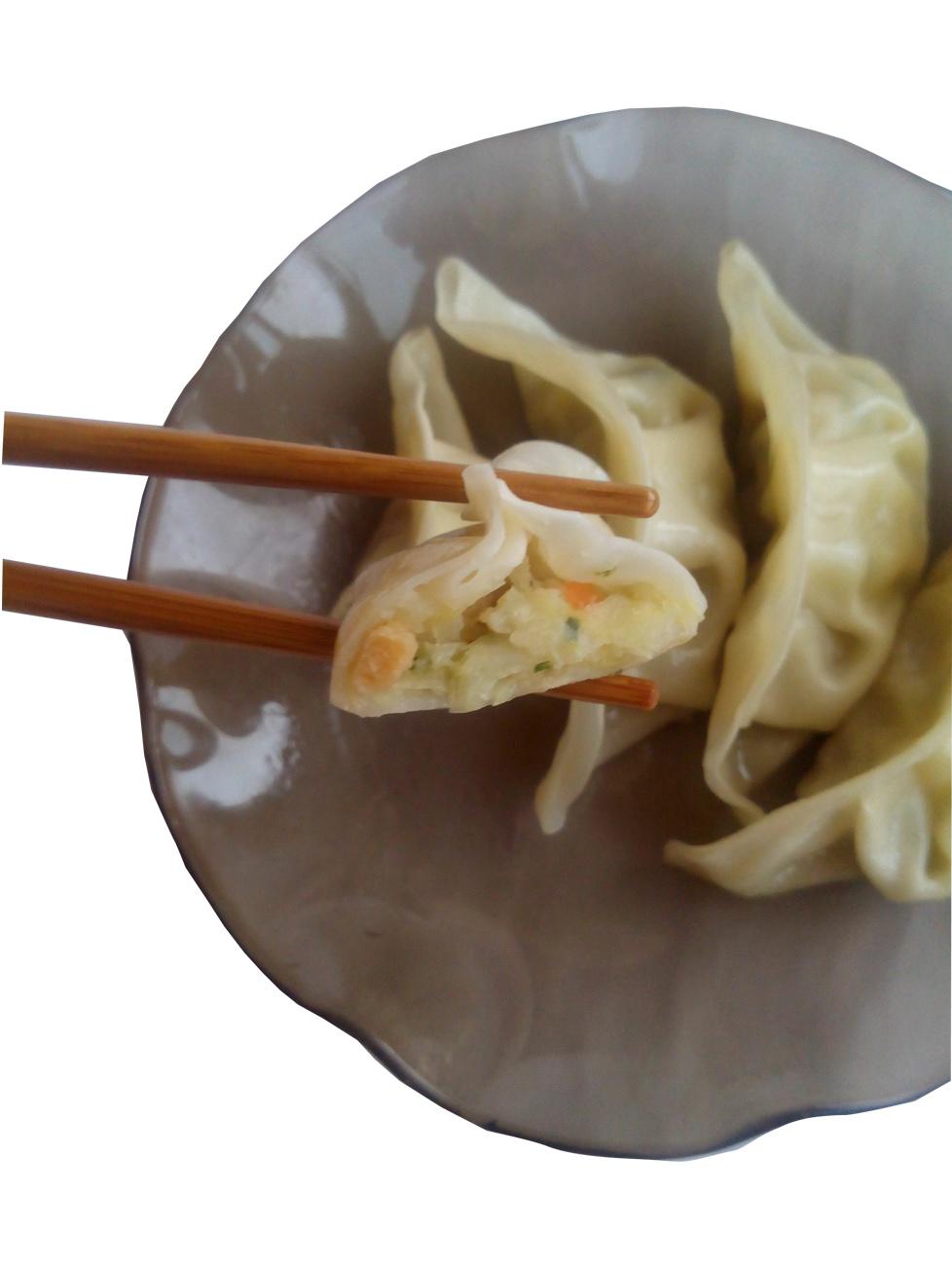 Японские пельмени гедза