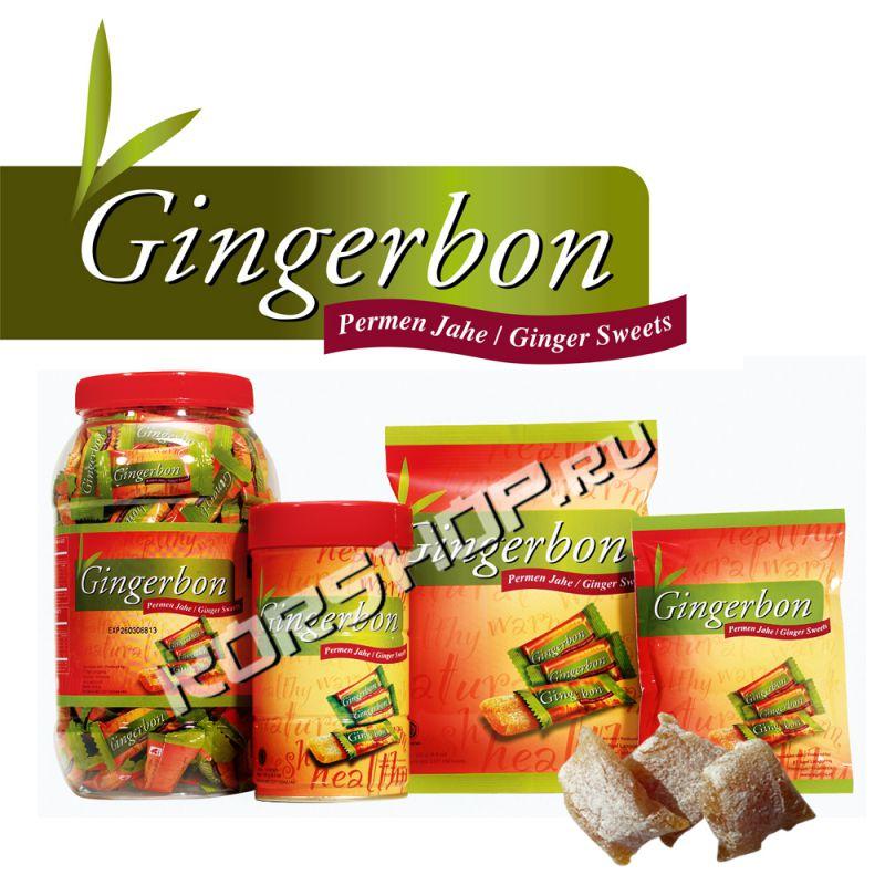 имбирные конфеты Gingerbon с медом, лимоном, арахисом