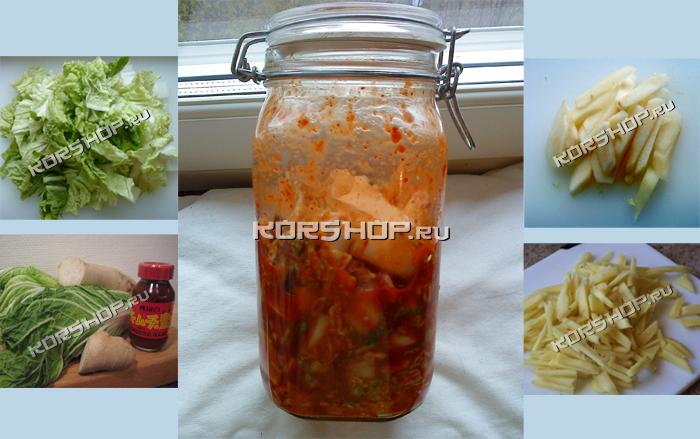Кимчи рецепт