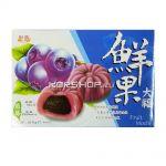 Японские сладости Фрукт Моти Голубика (Fruit Blueberry Mochi), Тайвань 210 г