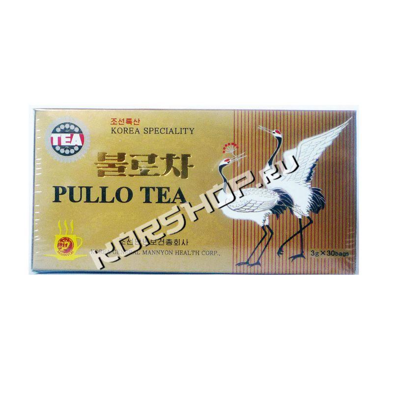 Корейский чай Пулло - настоящий женьшеневый чай (фото)