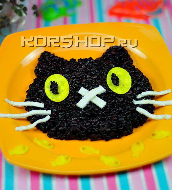 Рисовый кот для детей