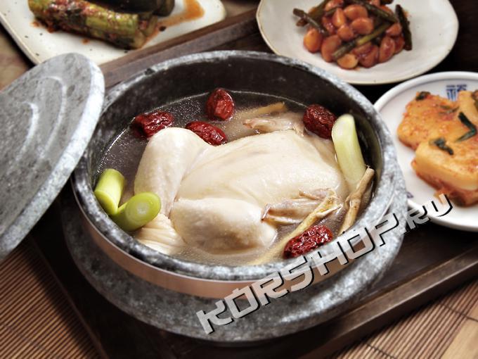 Самгетан готовое блюдо