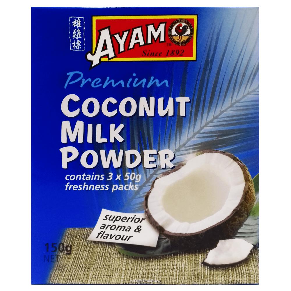 Сухое кокосовое молоко Ayam, Малайзия, 150 г