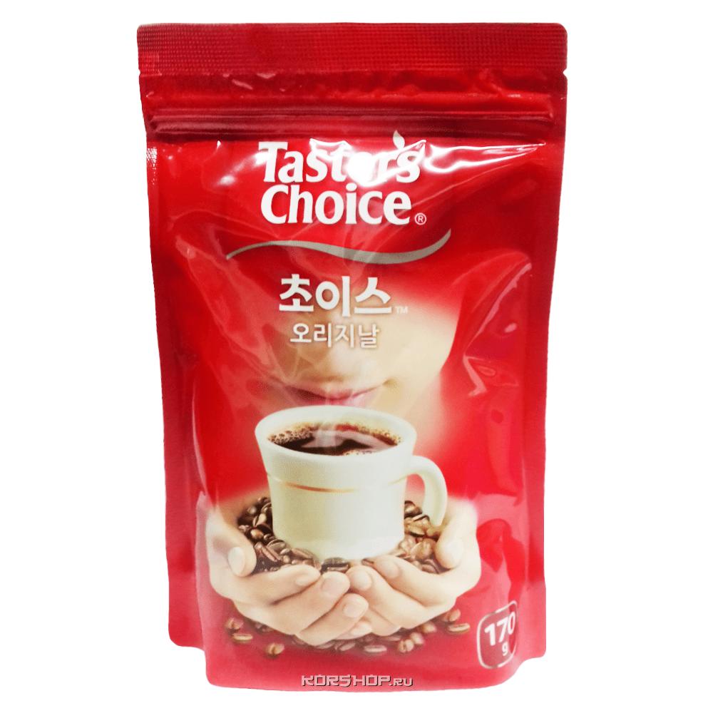 корейский растворимый кофе Tasters Choice