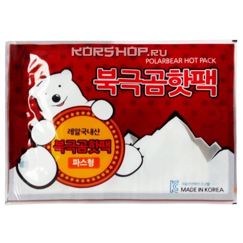 Грелки для рук и ног (термопакеты) PolarBear Hot Pack, Корея