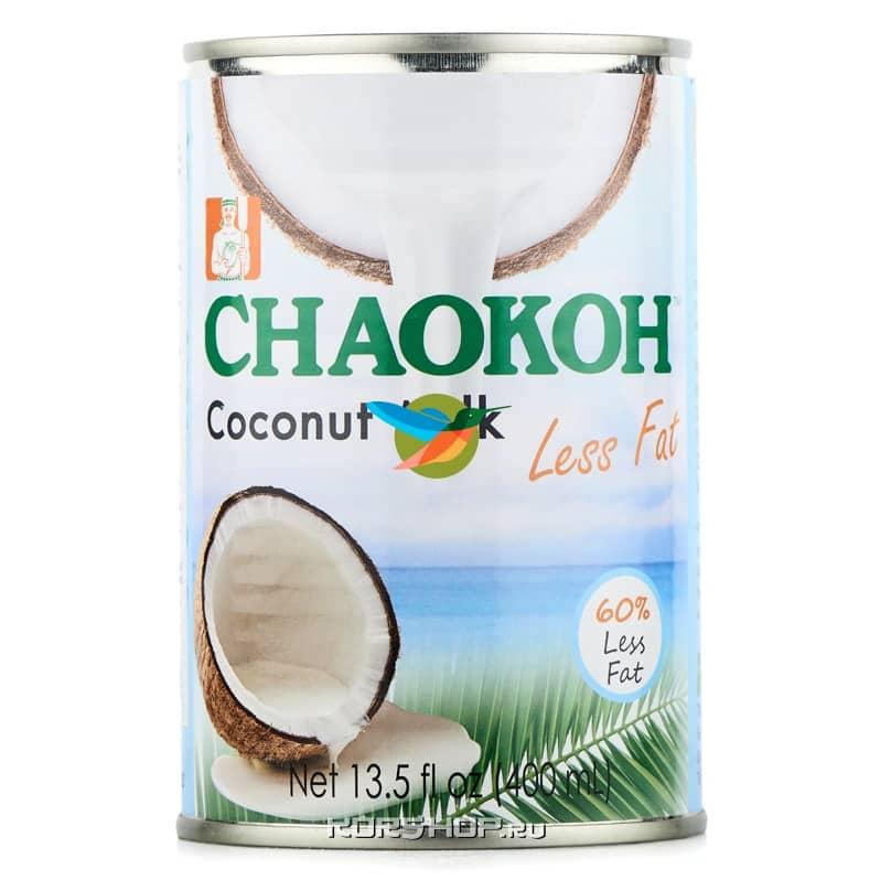 Обезжиренное кокосовое молоко Chaokoh, 400 мл,
