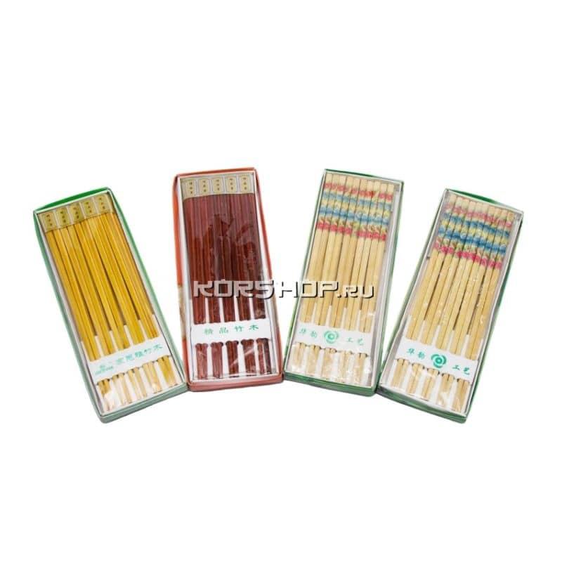 Палочки в упаковке бамбуковые 10 пар