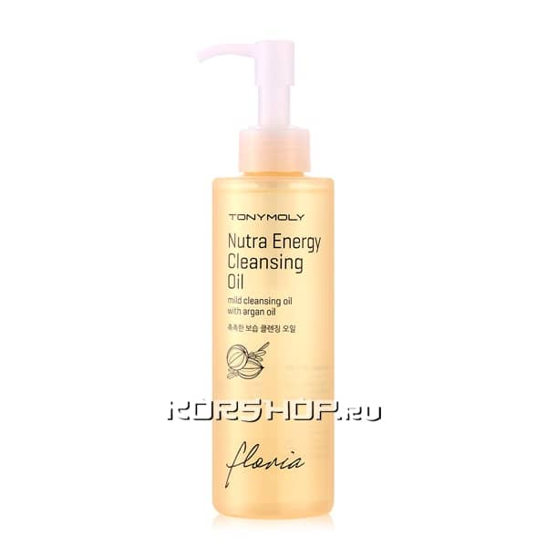 Гидрофильное масло Floria Nutra Energy Cleansing Oil Tony Moly, Корея, 190 мл