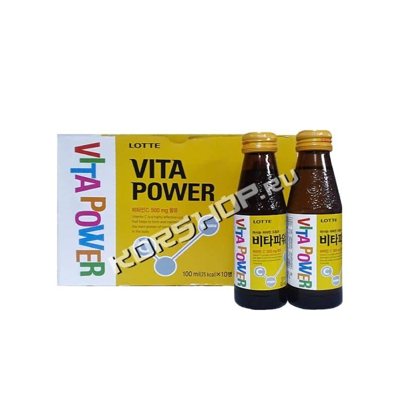 Напиток Vita Power Lotte 100млХ10 шт.