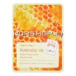Маска для лица с экстрактом прополиса Pureness 100 Propolis Mask Sheet Tony Moly, Корея, 21 мл