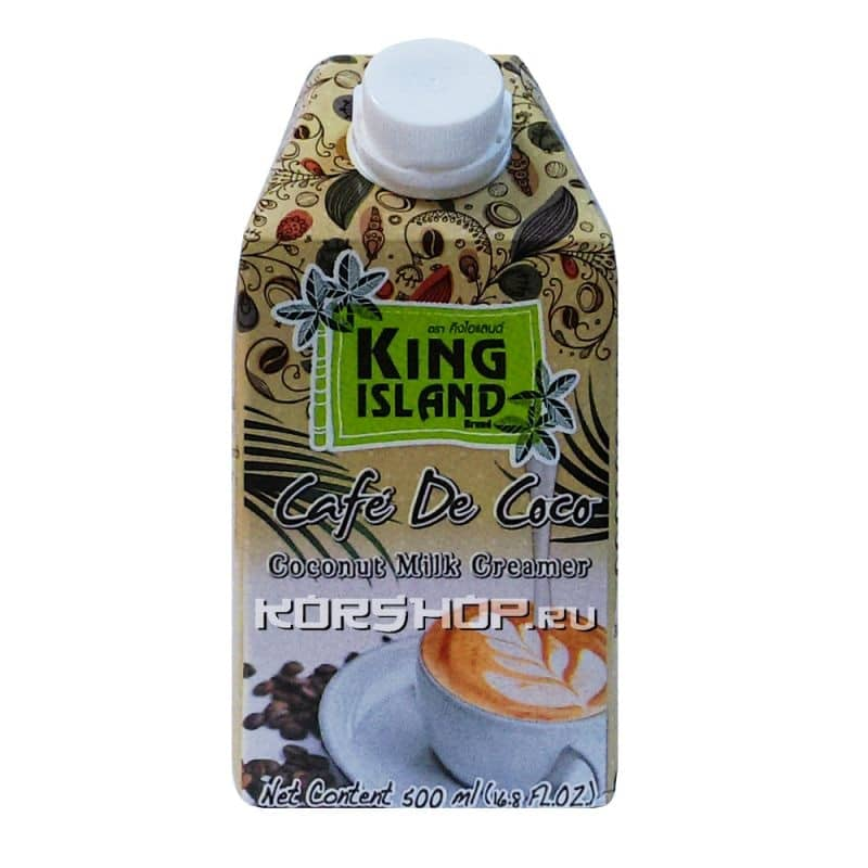 Кокосовые сливки для капучинатора King Island, Таиланд, 500 мл...