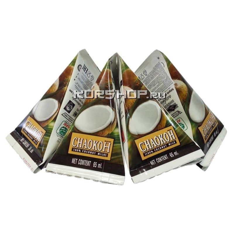 Кокосовое молоко Chaokoh (жирность 70%), Таиланд, 65 мл