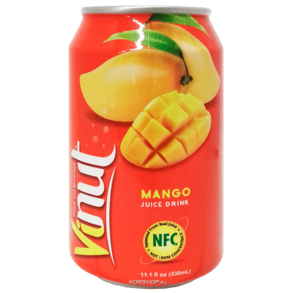 Напиток Манго ViNut, Вьетнам, 330 мл — купить в Москве по цене 62 руб.  с доставкой — интернет-магазин Korshop.ru