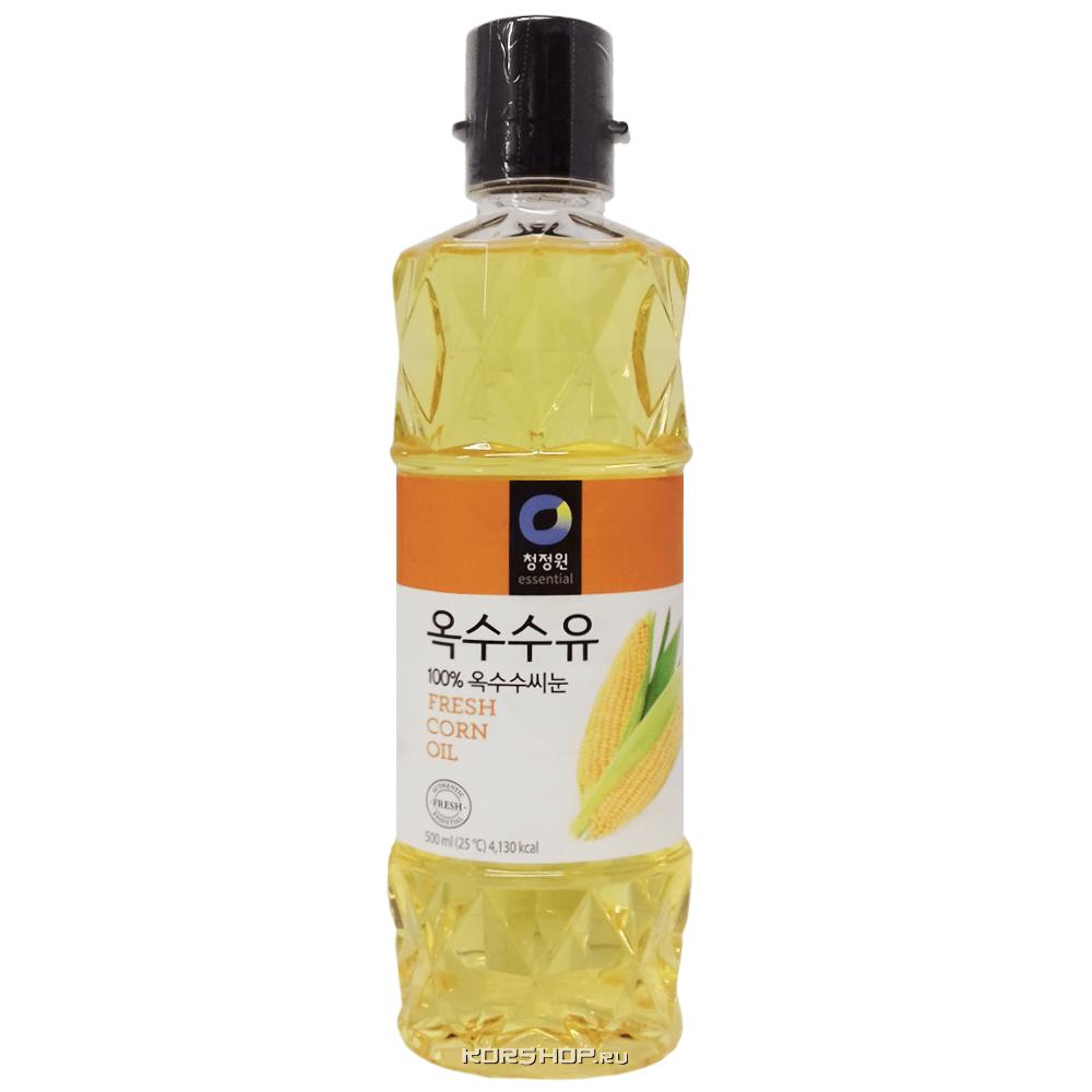 Кукурузное масло Daesang, Корея, 500 мл — купить в Москве по цене 239 руб.  с доставкой — интернет-магазин Korshop.ru