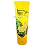 Крем-пенка для умывания Magic Food Banana Cream Foam Cleanser Tony Moly, Корея, 150 мл. Срок до 13.04.2019