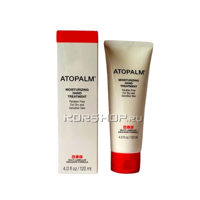 Увлажняющий крем для сухой / чувствительной кожи рук Atopalm (Атопалм), Корея 120 мл