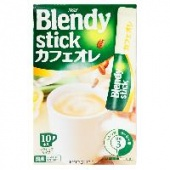 Кофе со сливками 3 в 1 Blendy Stick AGF, Япония, 120 г (12 г х 10 шт.)