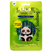 Маска для лица с экстрактом зеленого чая LUKE Green Tea Essence Mask, Корея, 21 г