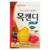 Фруктовые леденцы для горла Throat Candy (Mix Berry) Lotte, Корея, 36 г