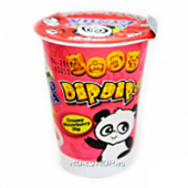 Печенье Dip Dip Strawberry Hello Panda Meiji, Индонезия, 20 г